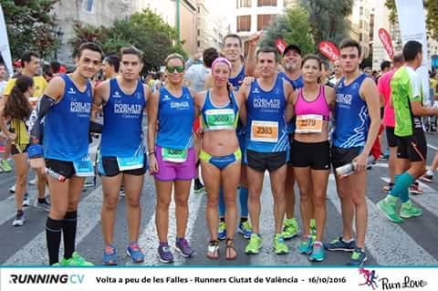 VII Volta a Peu de les Falles Runners Ciutat de València