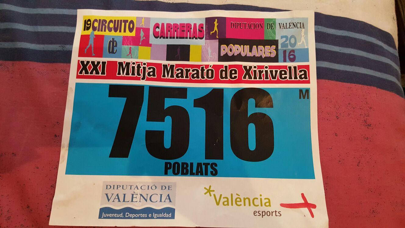 XXI Mitja Marató Ciutat de Xirivella