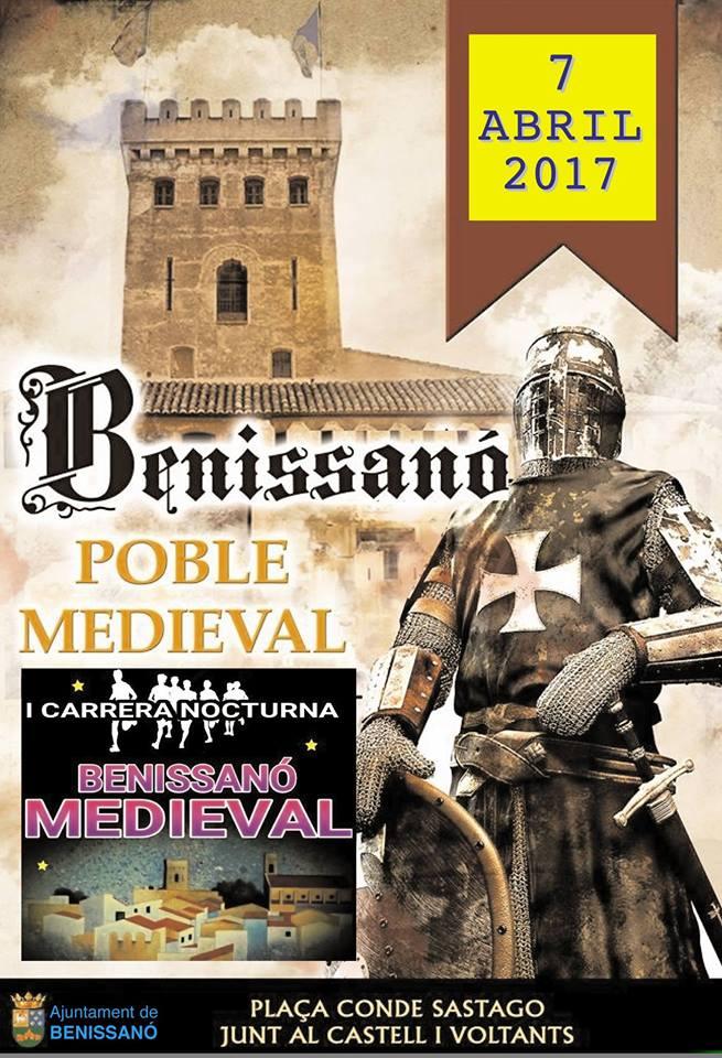 I Carrera Nocturna Benissanó Medieval