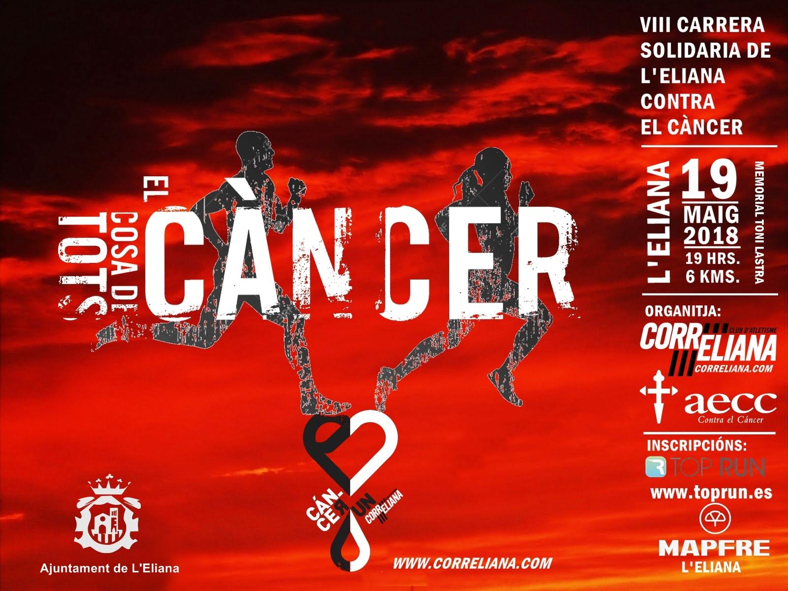 VIII Carrera Solidaria L'Eliana contra el cáncer